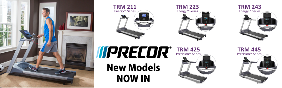 Precor Energy & Precision Series