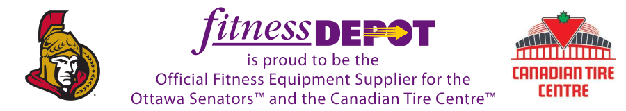 Fitness Depot Official Equipment Supplier Ottawa Senators Canadian Tire Centre