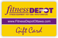 Fitness Depot Gift Card
