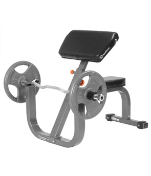 Ultimate Fitness • Seated Preacher Curl